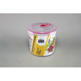 Stahlberg Контейнер вакуумный 2000 мл розовый