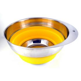 Stahlberg Миска складная желтая 25,4 см