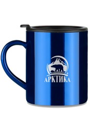 Арктика Термокружка, синяя, 300 мл