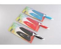 Gipfel Нож сантоку Rainbow, 3 цвета