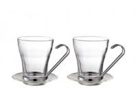 Gipfel Набор: 2 чашки стеклянные GLACIER