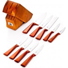 Stahlberg Набор ножей 10 пр. на деревянной подставке