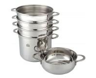 Stahlberg Набор посуды MADELINA 5 пр. для варки на пару и  спагетти